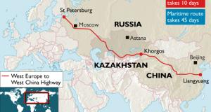 Кина гради грандиозен автопат до Европа