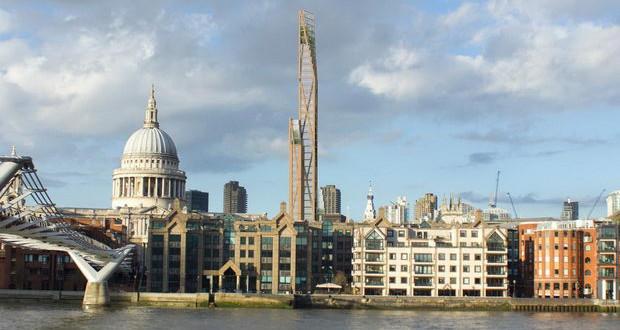 Експерти од Кембриџ тврдат дека дрвото е најсигурниот материјал за изградба на облакодери(ВИДЕО)