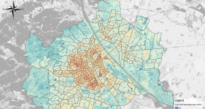 Виена: Интерактивна мапа која ќе Ви помогне да ги избегнете најтоплите места во градот
