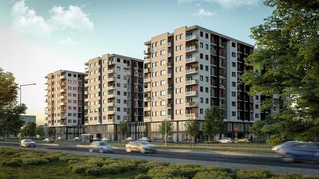 """Нов урбан комплекс Урбан гарден"""" во Скопје"""