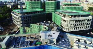 Смел градежен потфат на Мултифункционален комплекс во Москва