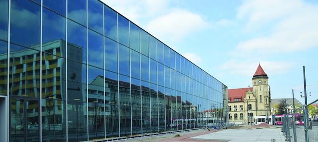 Dessau-Bauhaus-Museum-Baustelle