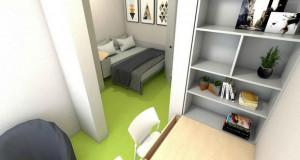 """Модерни и современи соби во Студентскиот дом """"Гоце Делчев"""""""