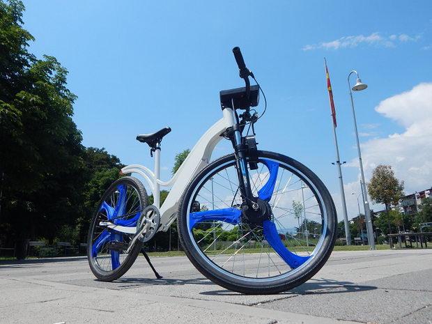 Македонскиот студентски велосипед со филтер за чист воздух награден во Сеул