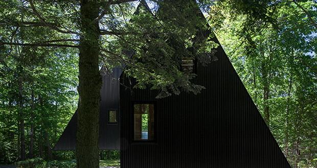 Fa House на сред шума во прекрасен и недопрен пејзаж