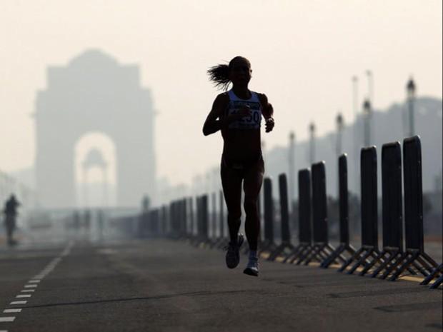 Њу Делхи: Како изгледаат подготовките за маратон во најзагадениот град на светот?