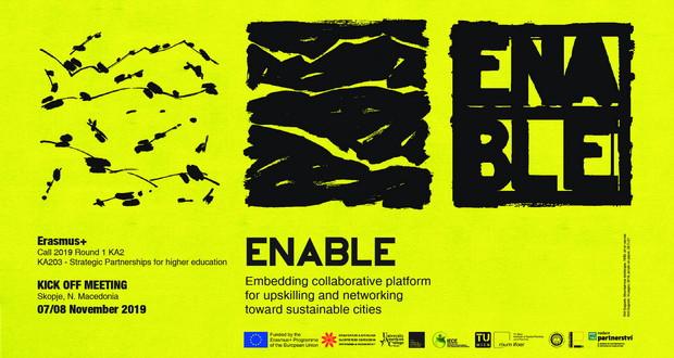 Означен почеток на Еразмус + проектот ENABLE