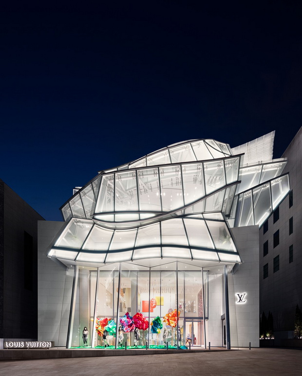 Louis Vuitton Maison Seoul на Френк Гери