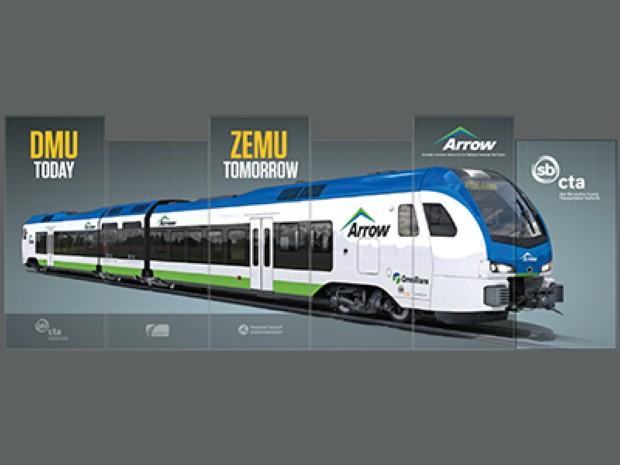 И Калифорнија набавува возови на водород