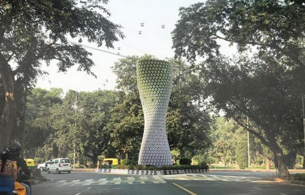 Џиновски кули во борбата против загадувањето