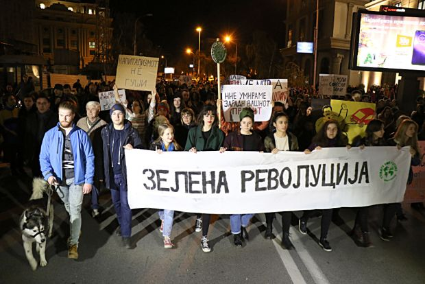 """Прифатени барањата на """"Марш за чист воздух"""""""