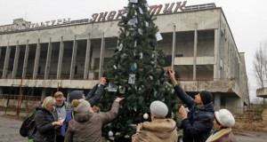 После 33 години накитена елка во Припјат