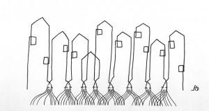 Симбол ослободен од цртачки детали, разголен до ниво на контура