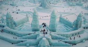 Земја на чудата направена од лед (видео)