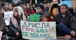 Со протест заокружен месецот на борба против отпадот