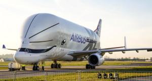 Полета еден од најинтересните авиони на светот Beluga XL
