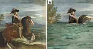 Ремек дела од сликарството преработени во склад со климатските промени