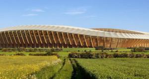 Стадион на Заха Хадид е прв што ќе биде направен од дрво