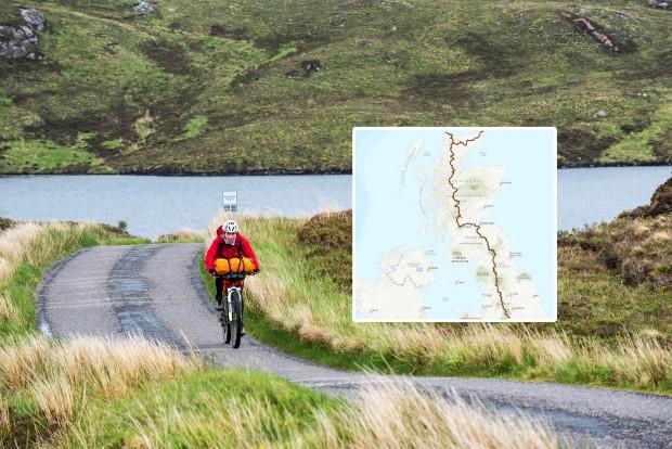 Англија и Шкотска поврзани со велосипедска патека од 1300 километри