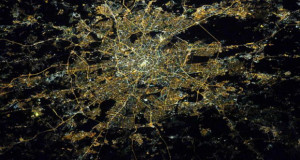Градови од вселенска перспектива