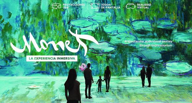 Дигитална изложба Monet, the immersive experience