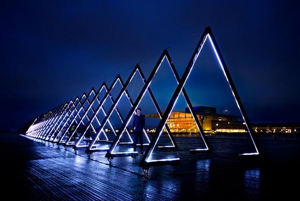 Фестивал на светла во Копенхаген (видео)