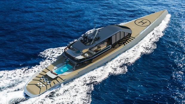 Во Турција претставена еколошка супер јахта