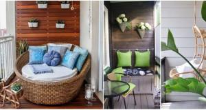 10 идеи за претворање на терасата во омилен дел од станот
