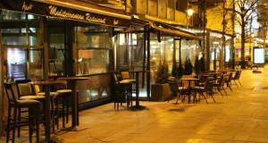 """И ова е Скопје…""""Празни кафулиња и улици"""""""