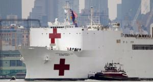 Поради коронавирусот импровизирани болници низ светот – од шатори до брод