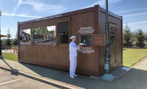 Во Хрватска за седум дена се прави корона кабина