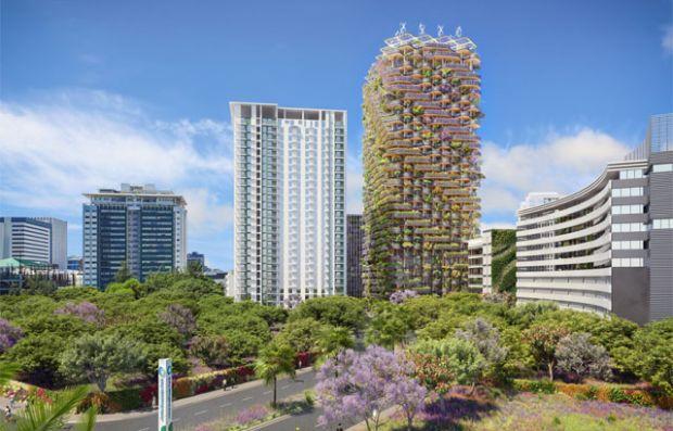 Модуларна кула од масивно дрво