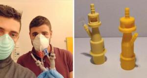 Подем на адитивното производство во време на криза: 3D печатените вентили спасуваат животи во болницата во Бреша