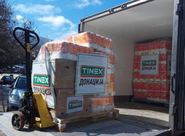 TINEX со донација од 100 илјади денари за Клиниката за Инфективни болести во Скопје