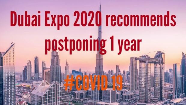 Expo 2020 во Дубаи, највероратно се одложува за следната година