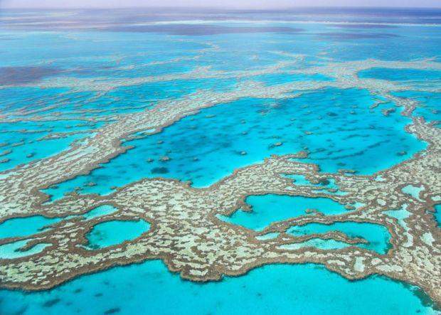 Големиот австралиски корален гребен бледнее по трет пат
