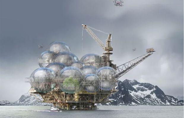 Од нафтени платформи до куќи на иднината