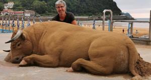 Фигурите од песок на шпанскиот уметник Bastarrikа го залудеа светот