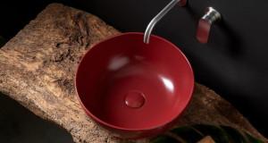 Минималистички мијалници во боја