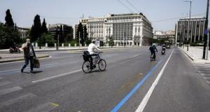 Атина од овој месец ги протерува автомобилите од центарот на градот