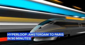 Од Амстердам до Париз за час и половина, со супер брз нискоенергетски воз