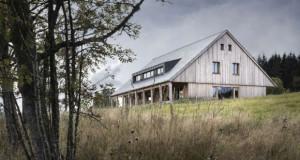 Планинска куќа во Националниот парк Шумава во Чешка