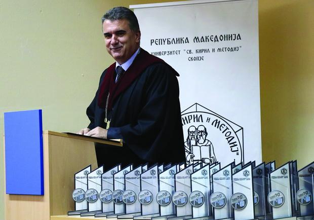Проф. д-р Златко Србиноски: Бројот на завршени студенти е најголемиот капитал со кој се гордееме