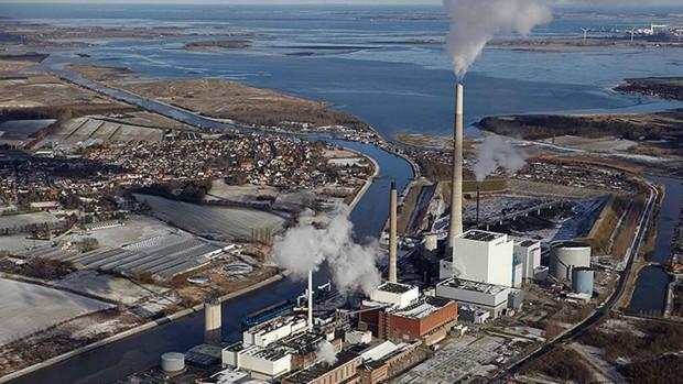Еден од најголемите системи за далечинско греење во Данска, целосно го исфрла јагленот