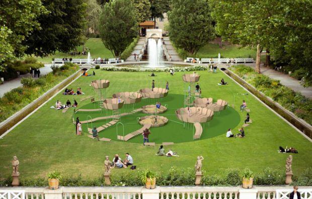 Детско игралиште отпорно на вируси