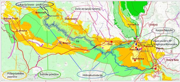 """Црна Гора го објави планот за хдроцентралата """"Комарница"""" од 170MW"""