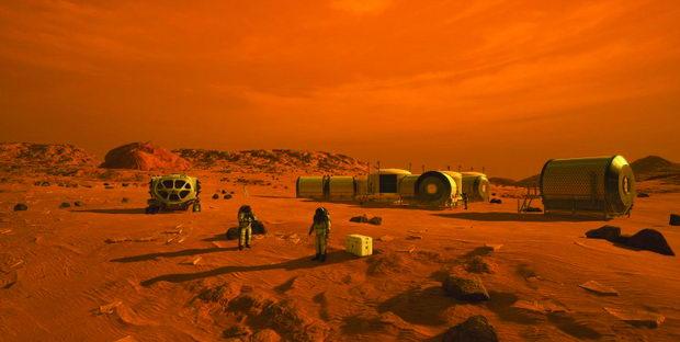 Одиме на Марс!