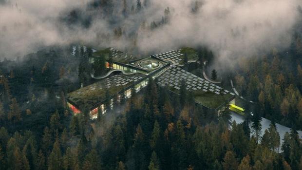 BIG проектирал најодржлива фабрика за мебел на светот