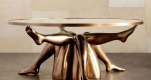 Исидора – скулптурална маса за кафе