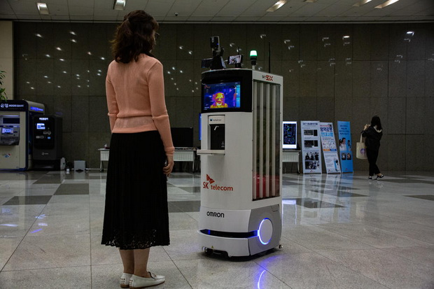 Autonomous robot to help fight coronavirus pandemic in South Korea